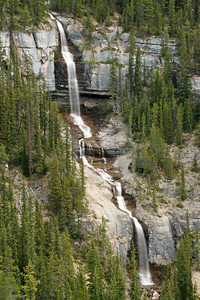Bridal Veil Falls (Icefields Parkway)