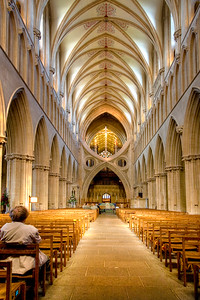 Wells Cathedral -The Scissor Arches