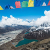 Flags of Gokyo Ri