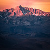Alpenglow of the Sierra