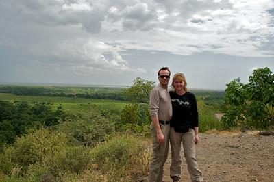 Panaroma of Lake Manyara