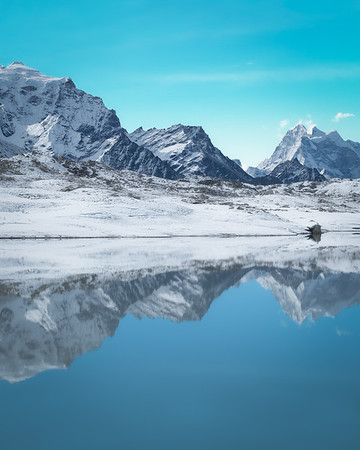 Reflections in Gokyo
