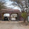 The main gate of Samburu National Reserve