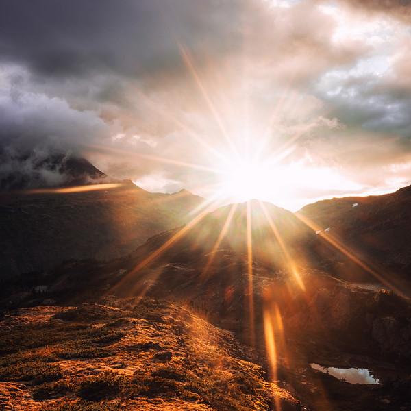 Coastal Mountains Sunrise