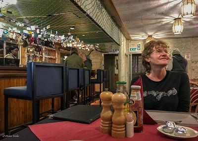 Dinner at Terrace Bay restaurant