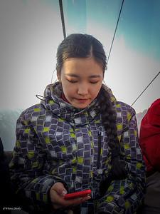 A beautiful local Kazakhstan girl.