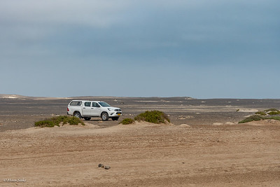 Huab River Mouth Parking