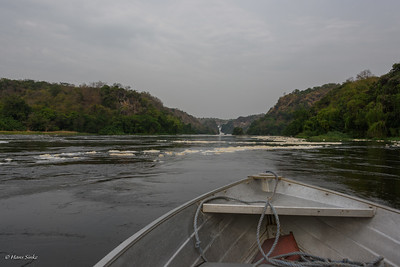 First glimps of the Murchison Falls