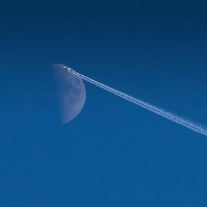 Moon Flypast