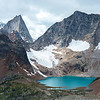 Colbalt Lake of the Bugaboos