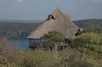 Restaurant at Lake Chala Safari Camp