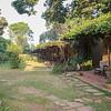 Entebe Guesthoude garden view
