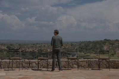 View from Tarangire Safari Lodge