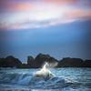 Last Light at Big Sur