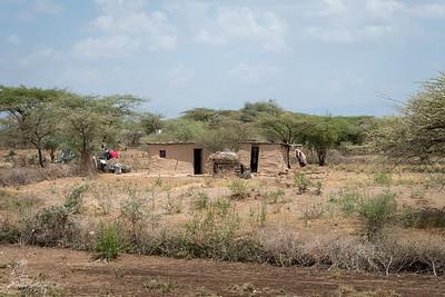 Street view on our way to Samburu