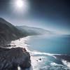 Moonlight at Big Sur