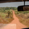 Road from Masindi to Murchison Falls National Park