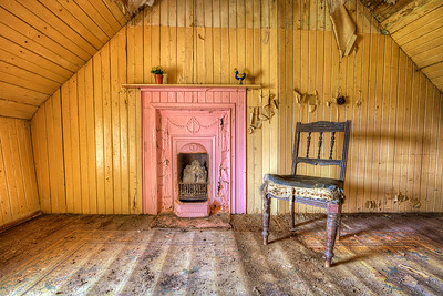 The Pink Fireplace