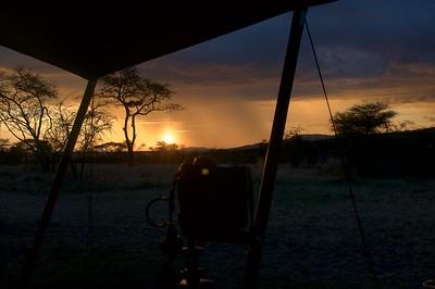 Taking Time-lapse of the sunset at Kati Kati