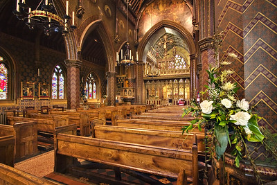 Flowers at St. Giles