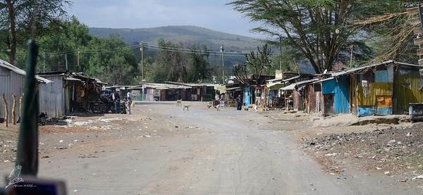 Village life in Kenia