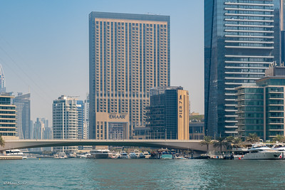 The famous Pier 7 building with 7 restaurants.