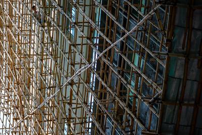 Chinese scaffolding