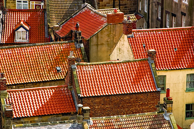 Red Roofs at Staithes