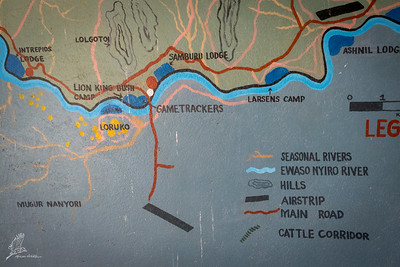 The Ewaso Nyiro is the same river as in Laikipia