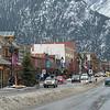 Banff city center