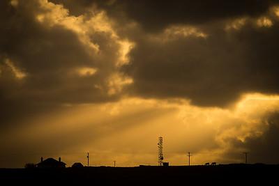 Hebridean skyline