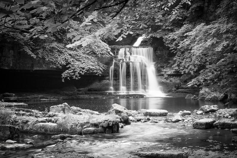 Cauldron Falls, Yorkshire Dales, England