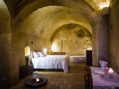 Albergo Sextantio Le Grotte Della Civita Hotel, Matera, Italy