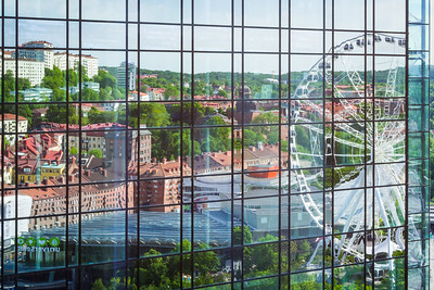 Gothia Towers and Liseberg, Gothenburg, Sweden