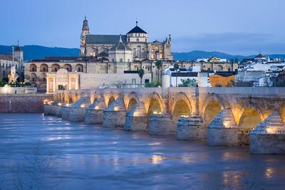 Dawn in Cordoba, Spain