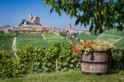 Serralunga d'Alba from Rivetto Winery - Piedmont, Italy