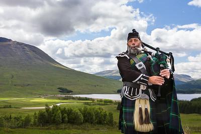 'Highlands Piper' - Scotland