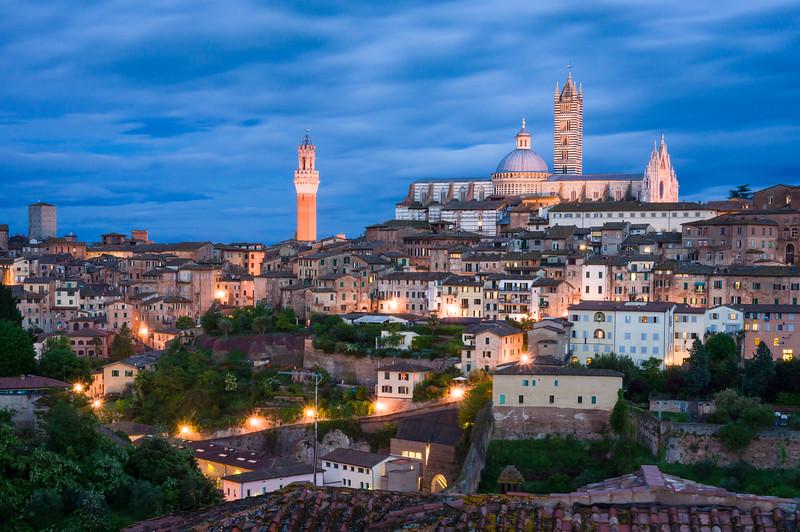 Siena Skyline, Tuscany, Italy