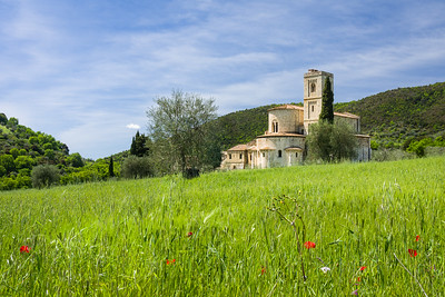 Abbazia di Sant'Antimo, Montalcino, Tuscany, Italy