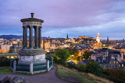 Dugald Stewart Monument, Edinburgh, Scotland
