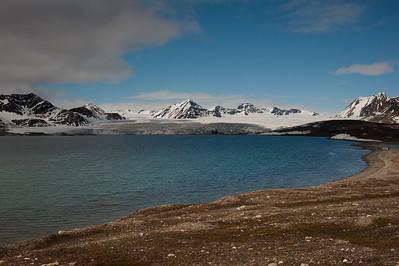 Vue du premier glacier