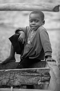 Lake Tanganyika Fishing Boy