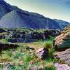 700527 Slate Mine Slag Hills in Blaenau Ffestiniog Wales 8-31