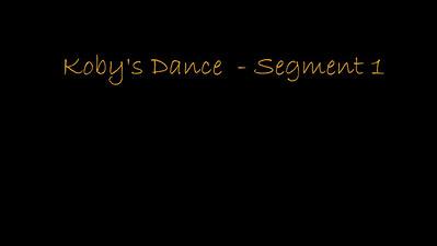 170114 Koby's Dance - Segment 1-1