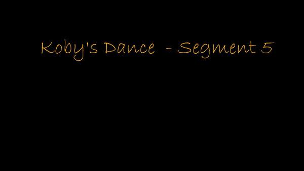 170114 Koby's Dance - Segment 5-1