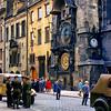700823 Russian Solders at Clock in Praha 13-30