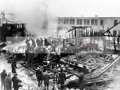 Cleveland Hill School Annex Fire