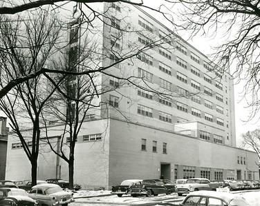 Children's Hospital in winter