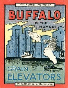 Buffalo is the Home of Grain Elevators