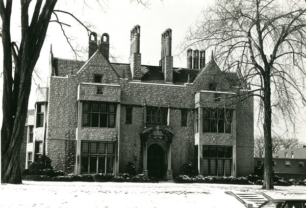 Canisius High School in winter